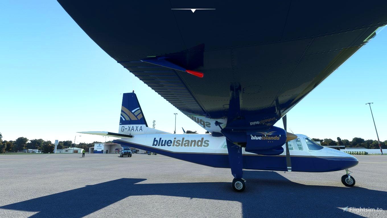 BN2A Blue Islands G-XAXA request