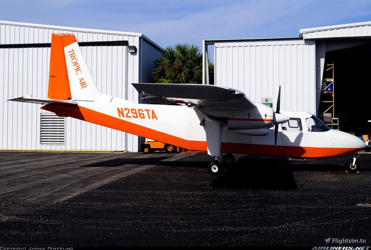 BN2A Tropic Air N296TA Request