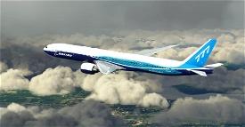 "Boeing Industries / Boeing House ""2011 livery"" CaptainSim 777-300ER Microsoft Flight Simulator"
