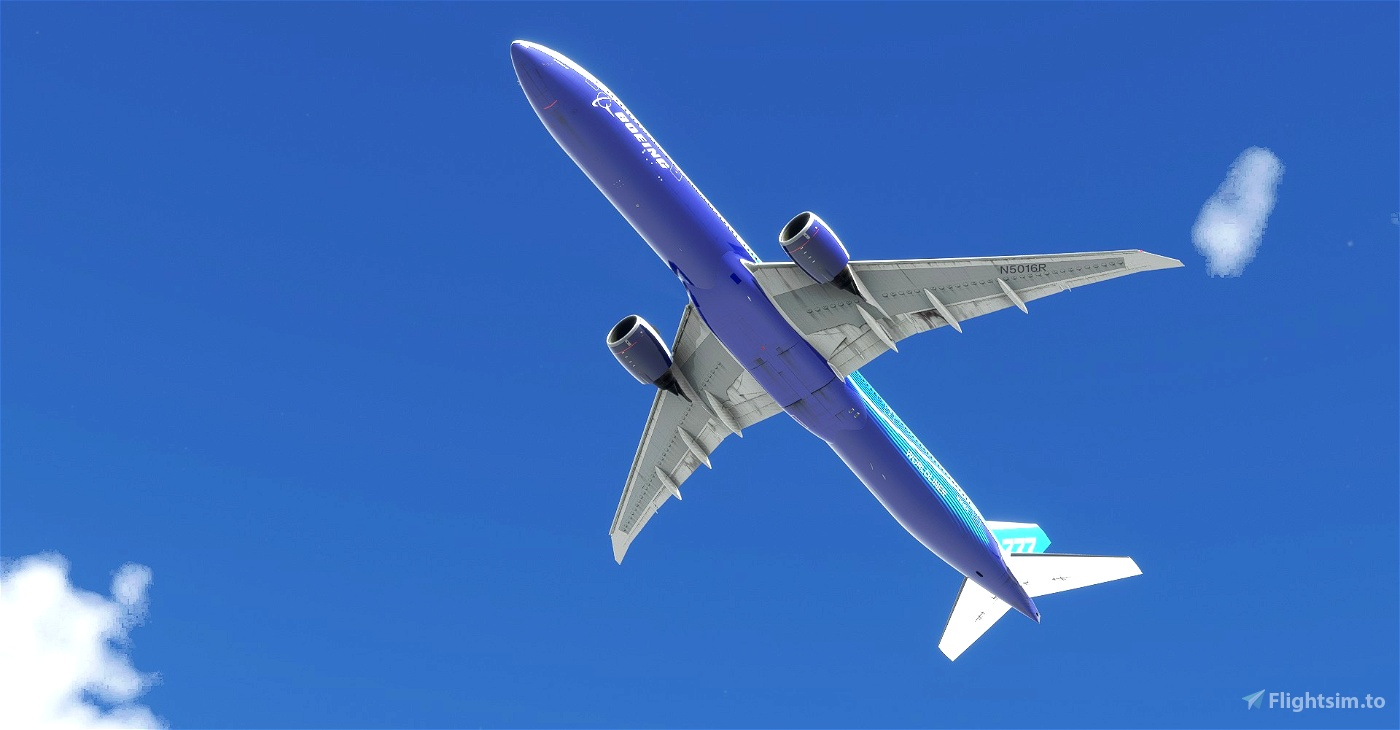 """Boeing Industries / Boeing House """"2011 livery"""" CaptainSim 777-300ER"""