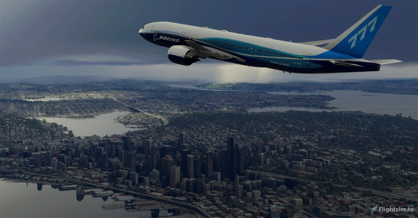 """Boeing Industries / Boeing House """"2011 livery"""" CaptainSim 777-200ER"""