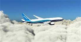"Boeing Industries / Boeing House ""2011 livery"" CaptainSim 777-200ER Microsoft Flight Simulator"
