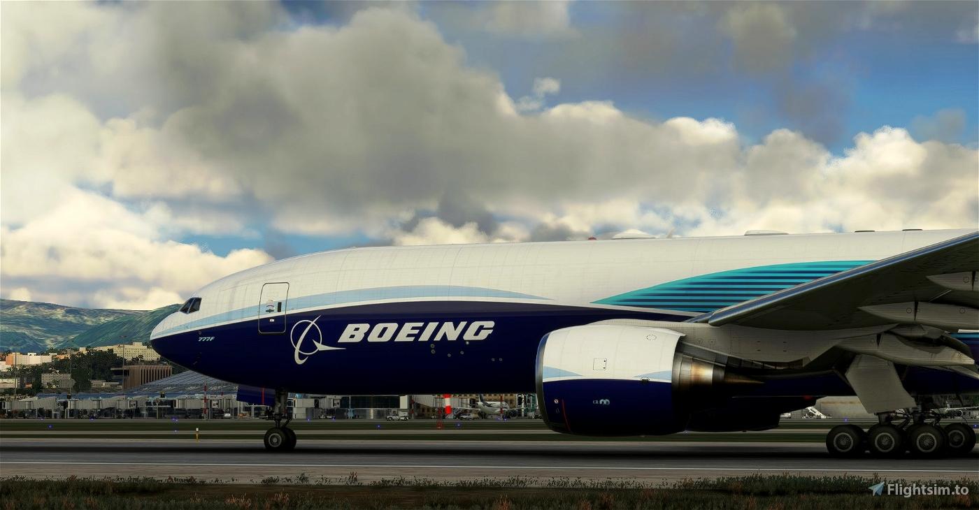 Boeing Industries / Boeing House CaptainSim 777-200F Microsoft Flight Simulator