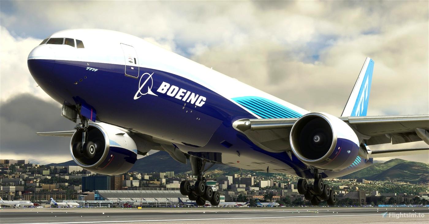 Boeing Industries / Boeing House CaptainSim 777-200F