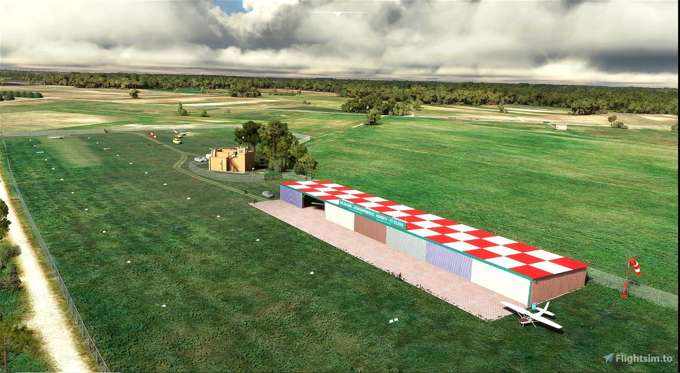 BR06 - (IT-0239 in FS: LITW) Aviosuperficie Esperti – Cellino S. Marco (Brindisi) v 1.22 Microsoft Flight Simulator