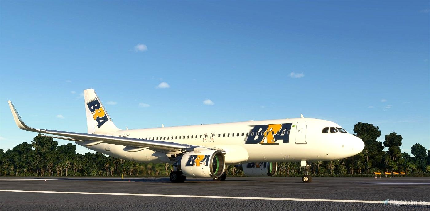 BRA (Brasil Rodo Aéreo) Transportes Aéreos for FBW A32NX