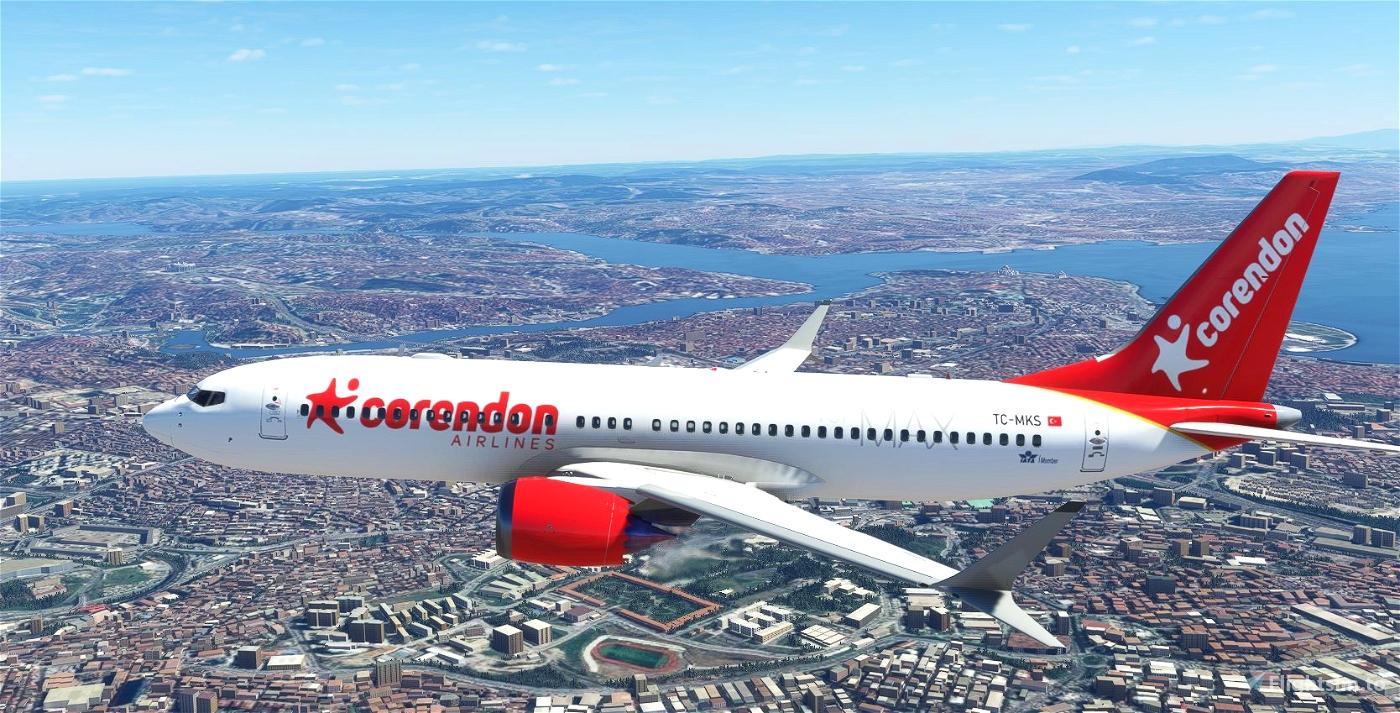 Bredok3D 737 MAX 8   Corendon Airlines