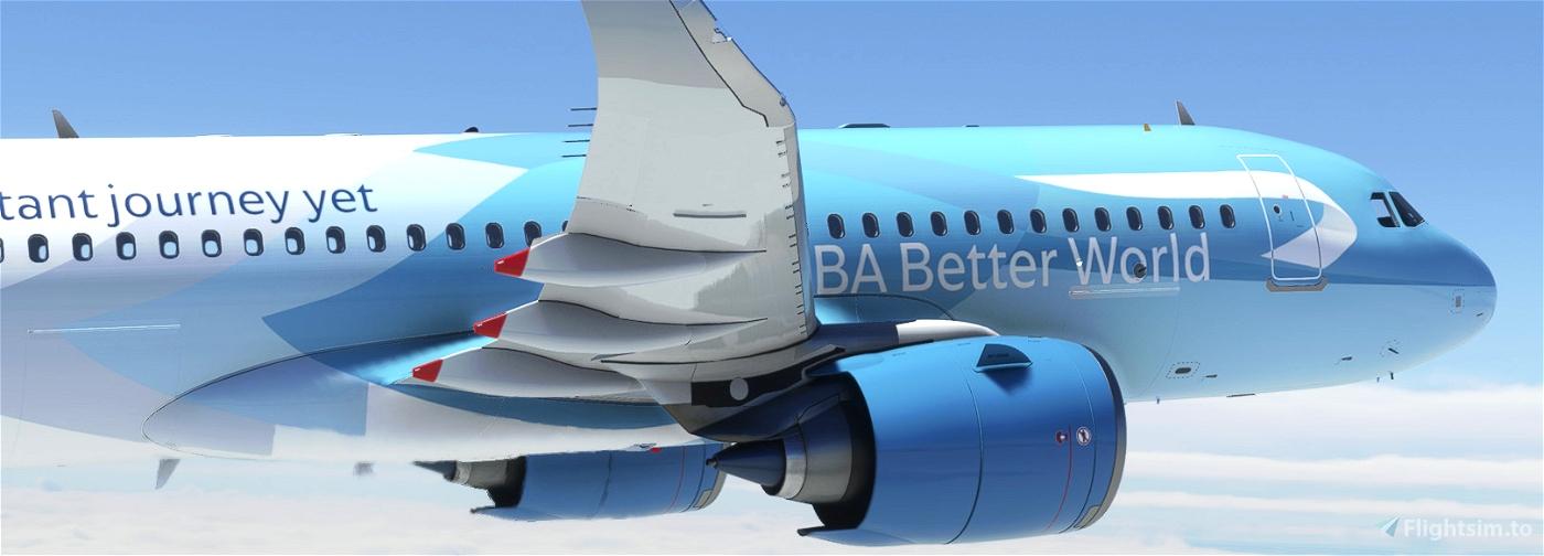 British Airways G-TTNA Better World Livery 8K