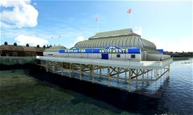 Burnham Pier, Burnham-on-sea, Somerset, UK. Handcrafted for MSFS Microsoft Flight Simulator