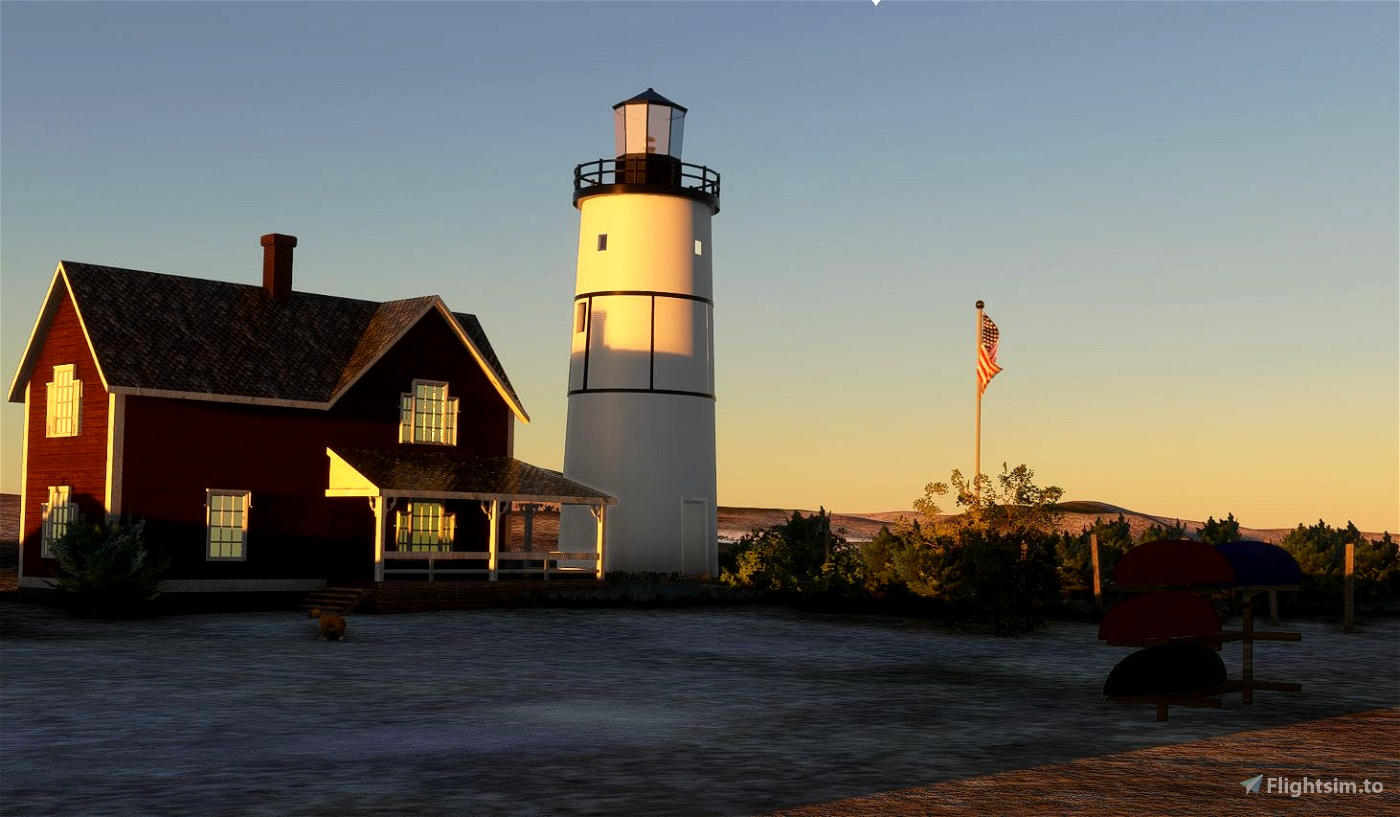 Cape Cod Airfield and 5 Lighthouse bundle