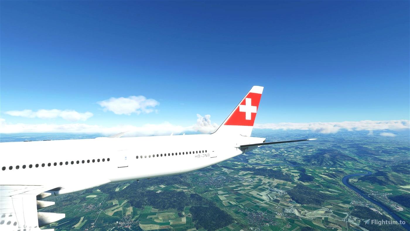 Captain Sim B777-300ER Swiss HB-JNB | 8K