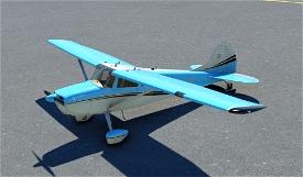 Carenado C170 Livery VintageBlue Microsoft Flight Simulator