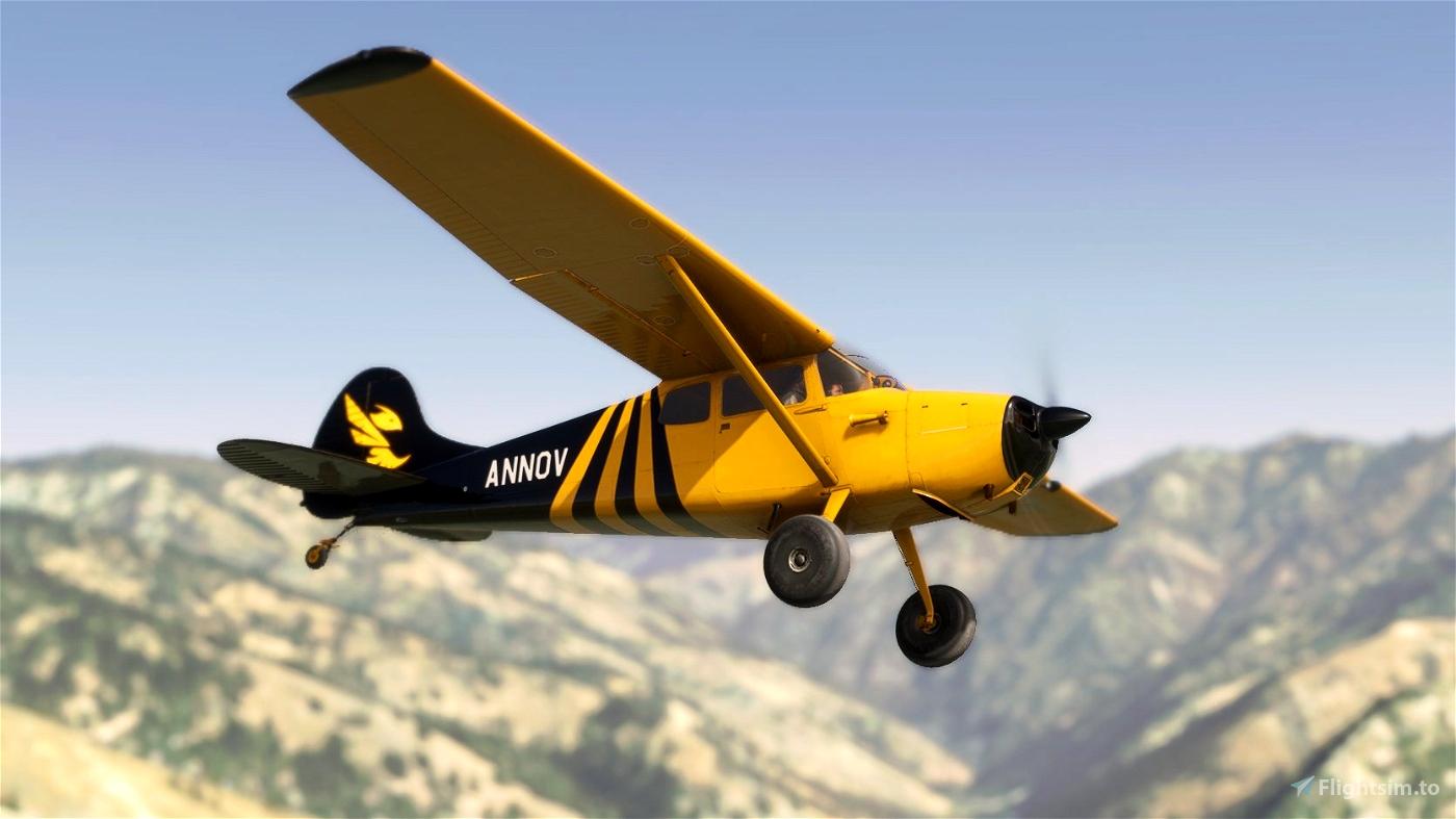 Carenado C170B Tundra Hornet Microsoft Flight Simulator