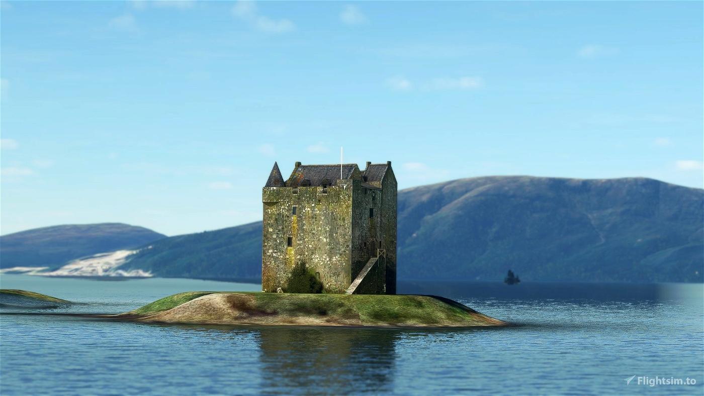Castle Stalker Microsoft Flight Simulator