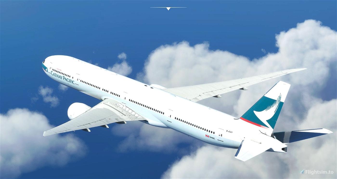 Cathay Pacific 777-300ER OC Ultra - Captain Sim