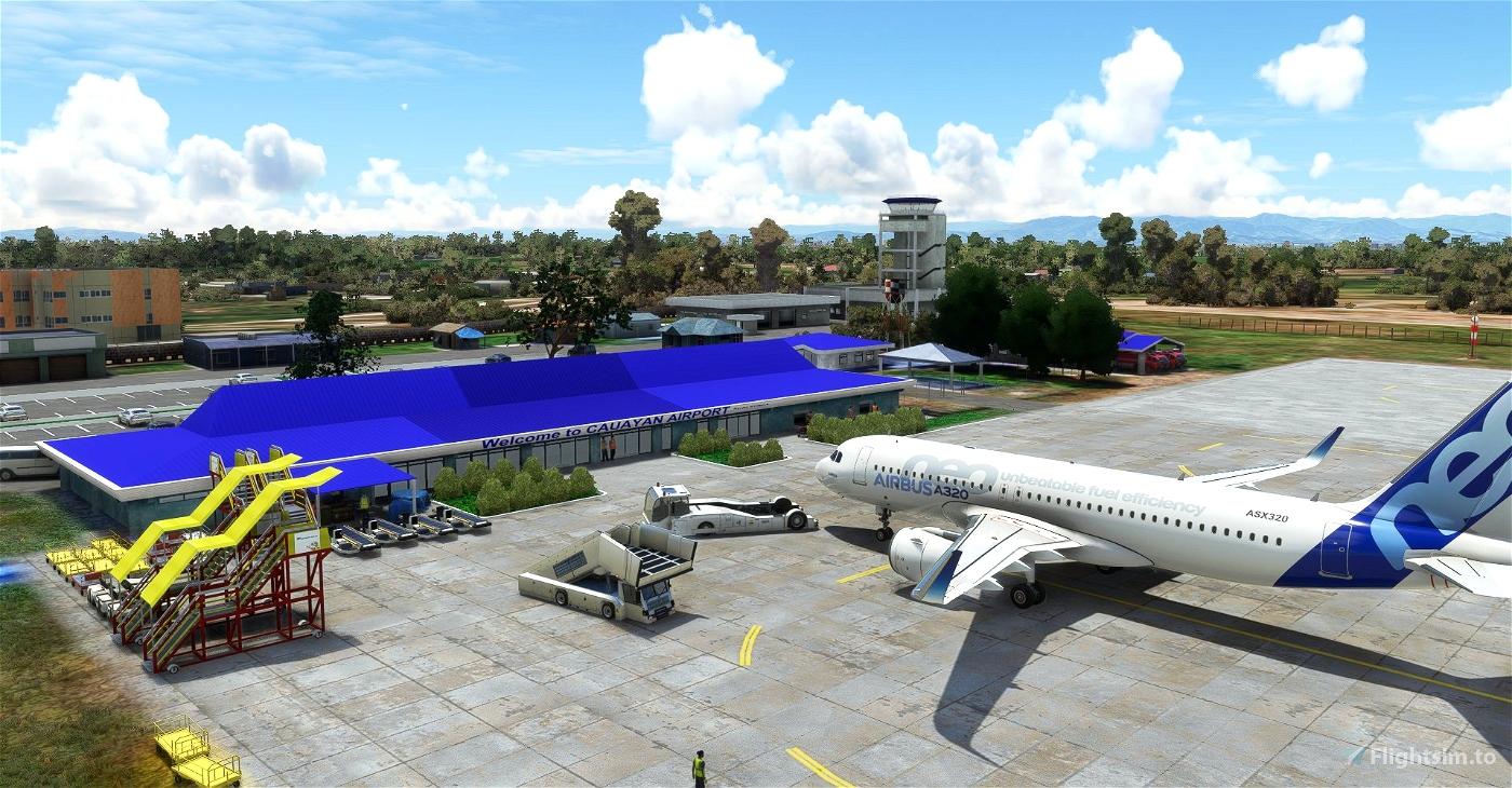 Cauayan Airport (RPUY) Microsoft Flight Simulator