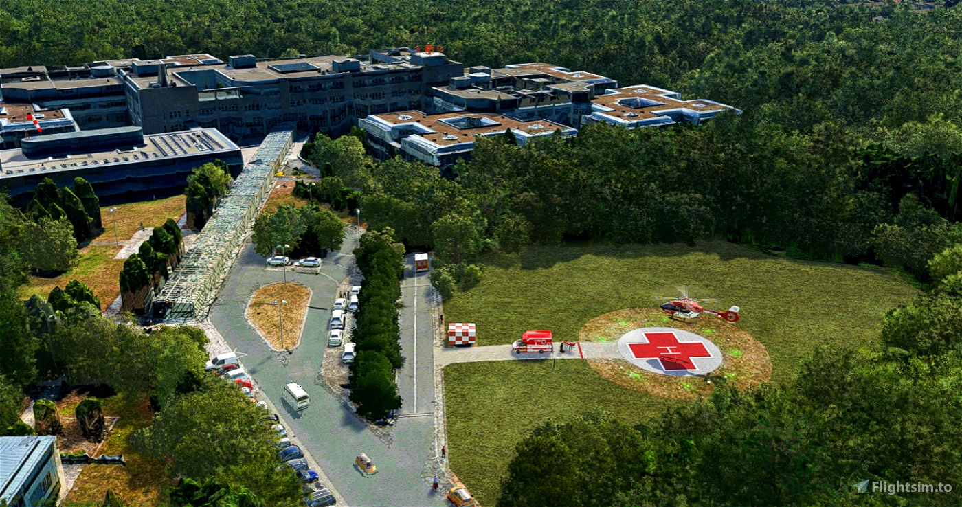 Central franconian hospitals / Krankenhäuser in Mittelfranken