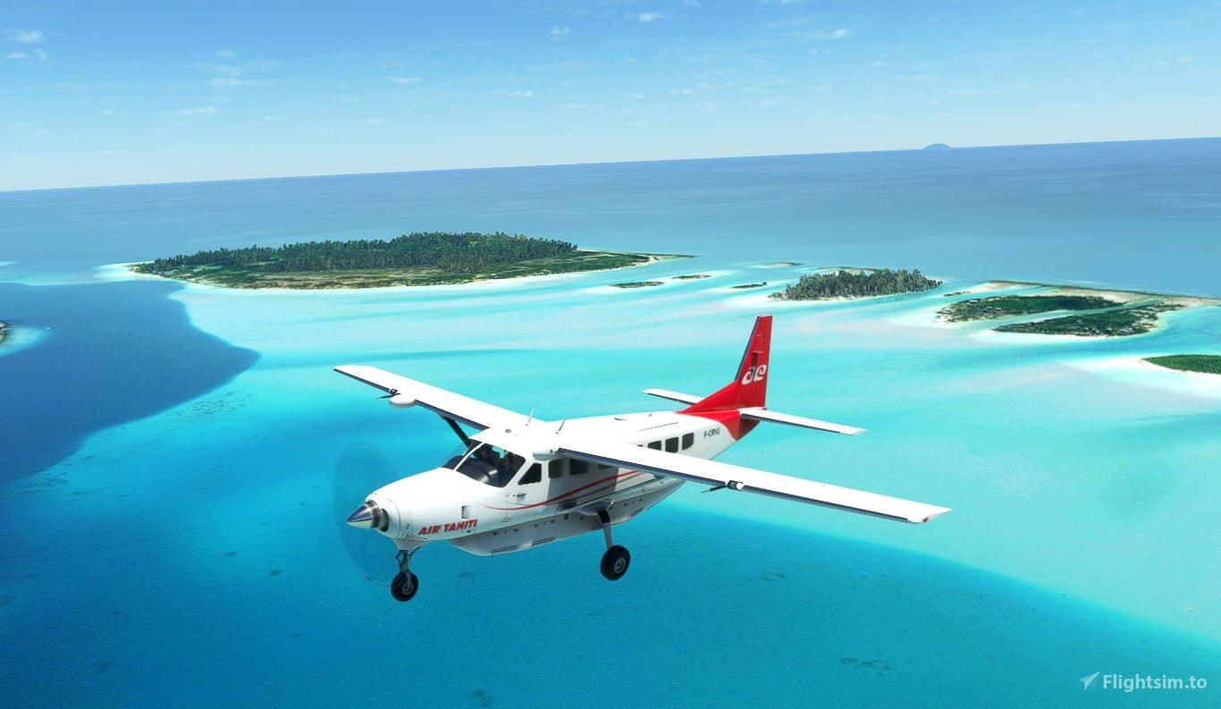 Cessna 208B Grand Caravan - Air Tahiti [Fictional]