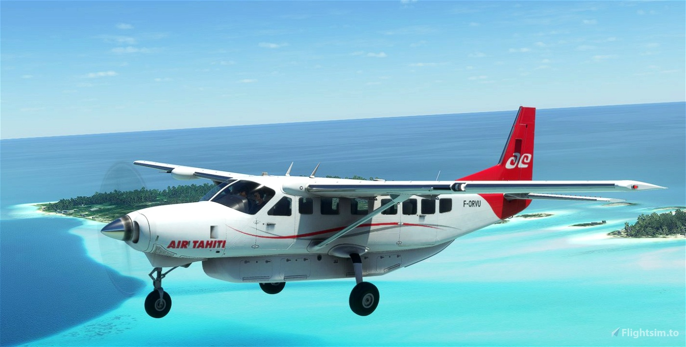 Cessna 208B Grand Caravan - Air Tahiti [Fictional] Microsoft Flight Simulator