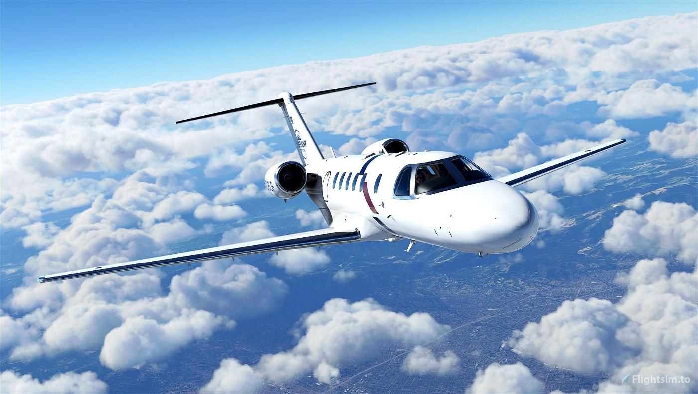 Cessna Citation CJ4 - Life Flight Network (N918LF)
