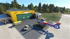 Christophorus 11 HQ on Klagenfurt Airport [LOWK] | Austria Microsoft Flight Simulator
