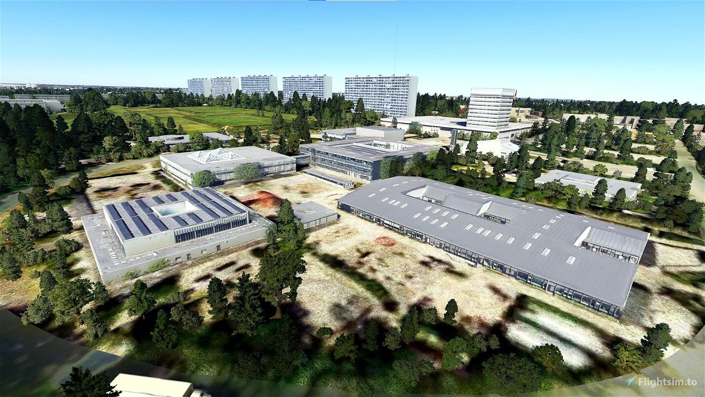 Copenhagen Landmarks Microsoft Flight Simulator