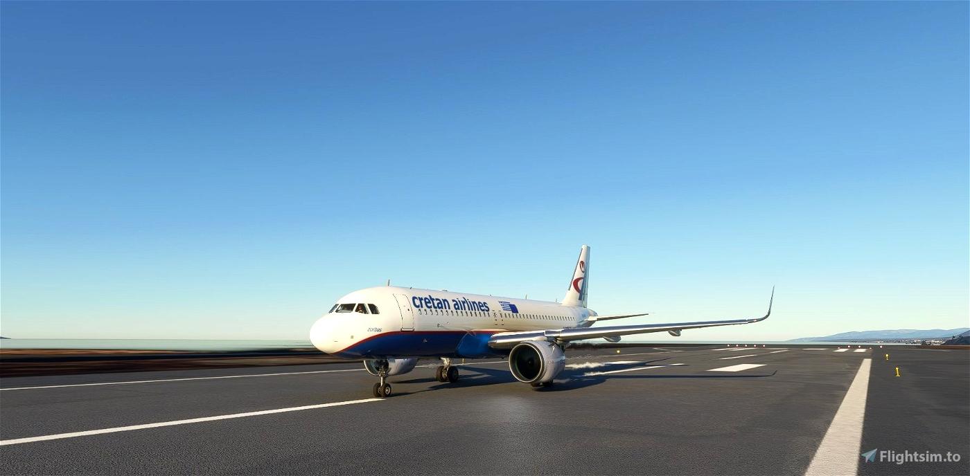Cretan Airlines livery for FBW A32NX