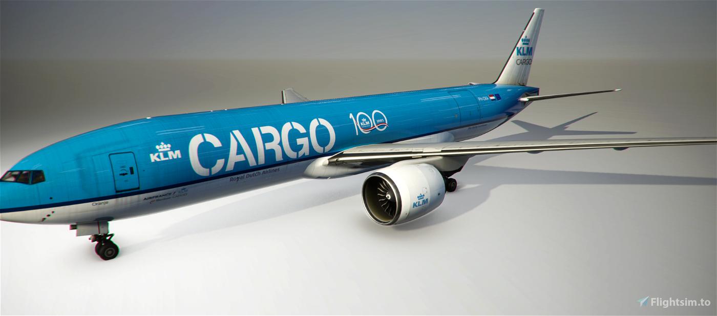 CS 777F | KLM CARGO | 8K | High Details Microsoft Flight Simulator