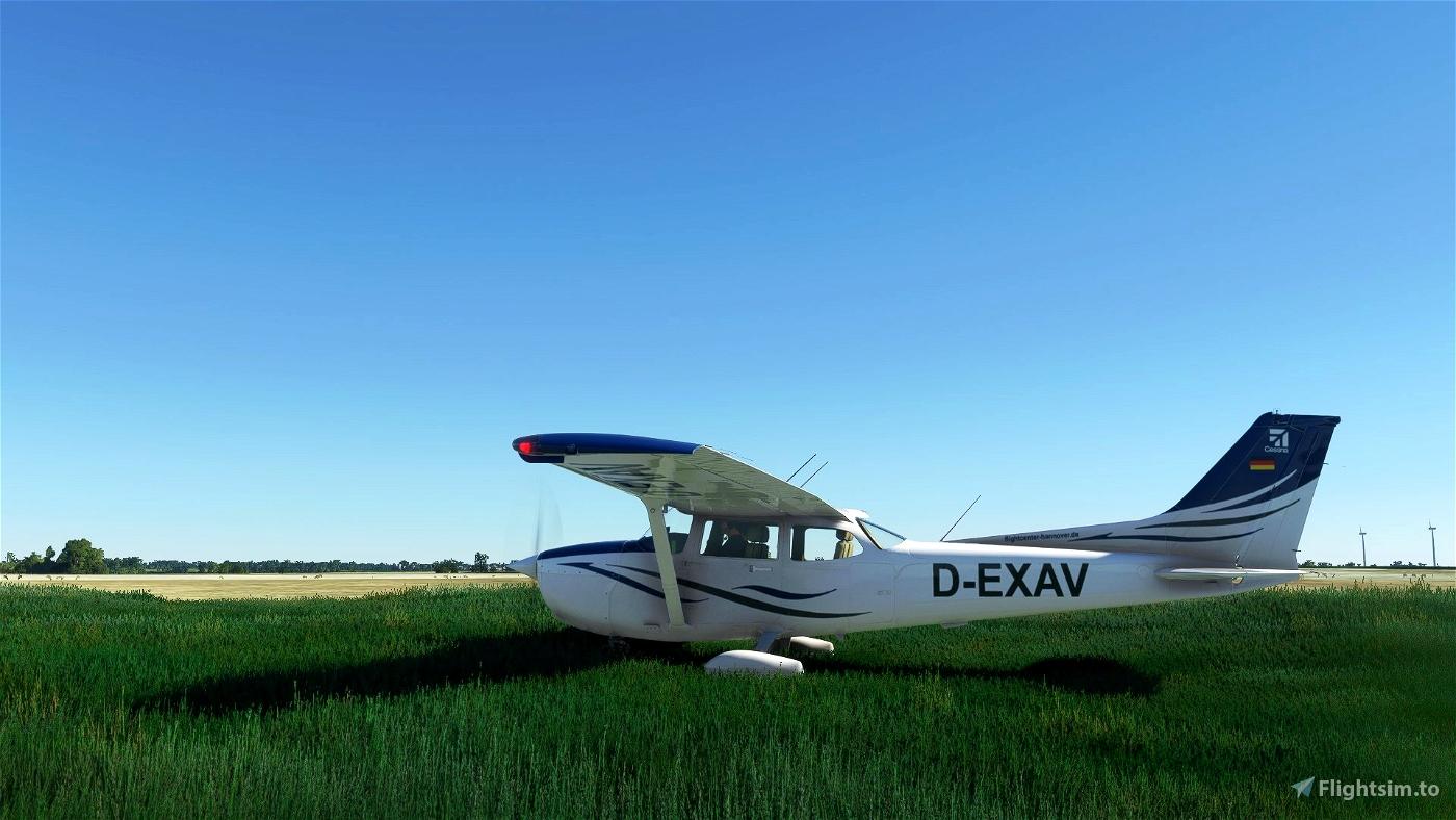 """D-EXAV """"Flightcenter Hannover"""" (C172 G1000)"""