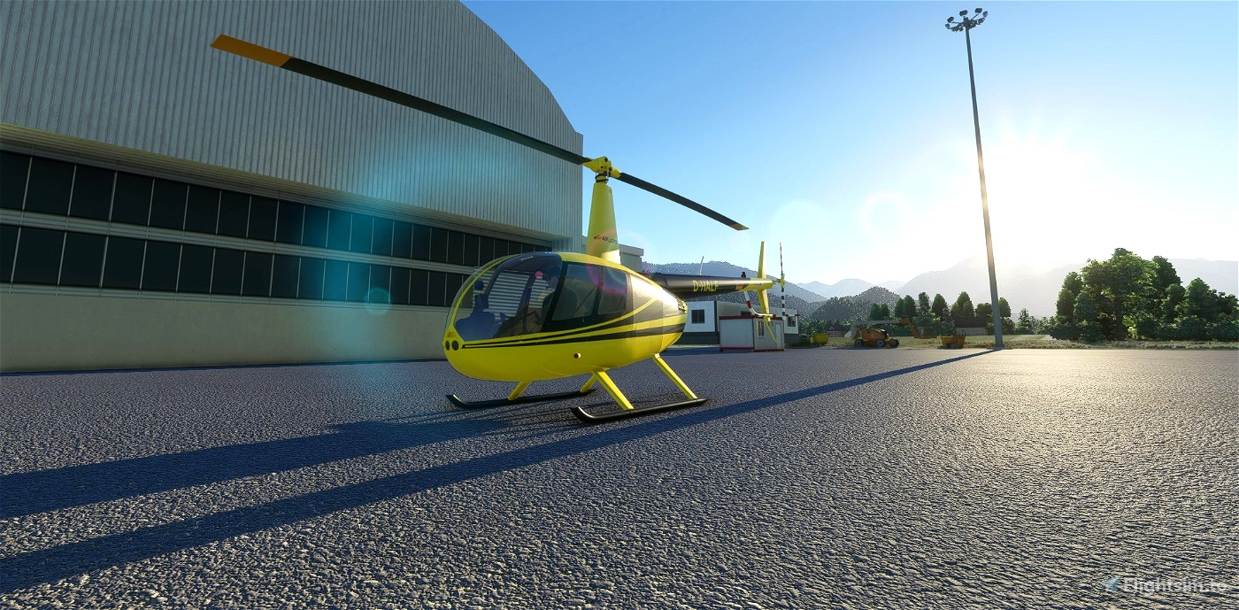 D-HALF | Air Lloyd | R44 Raven II Alpha 2.0