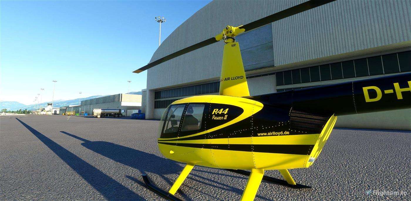 D-HALF | Air Lloyd | R44 Raven II Alpha 2.0 Microsoft Flight Simulator