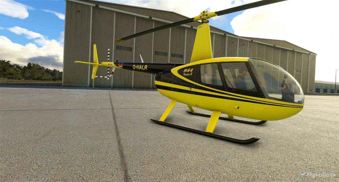 D-HALR   Air Lloyd   R44 Raven II Alpha 2.0 Microsoft Flight Simulator