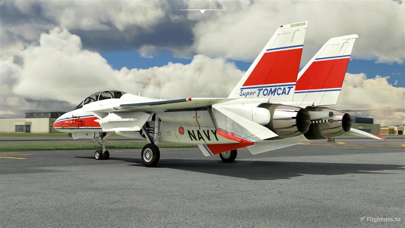 DC Designs F-14 B Grumman testbed