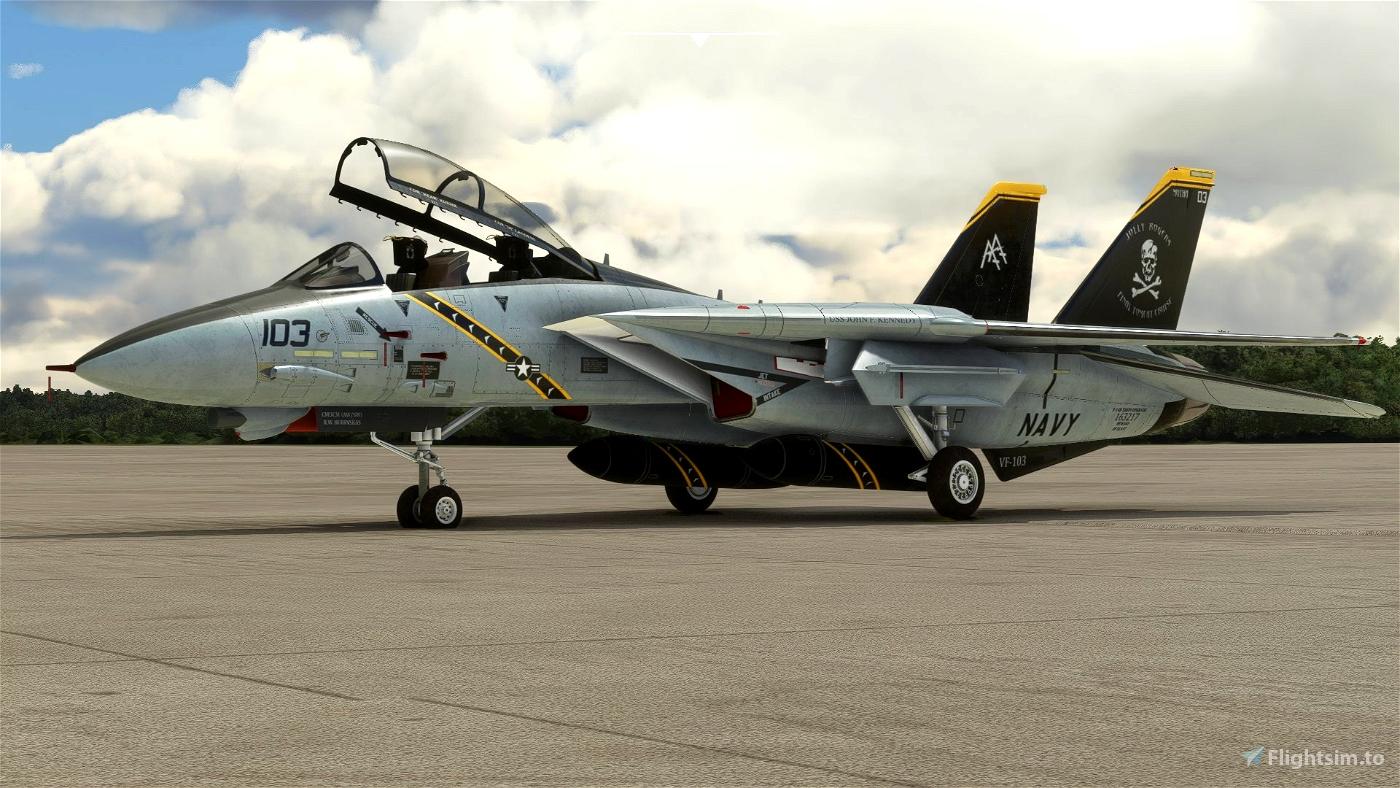 DC Designs F-14 B VF-103 Jolly Rogers