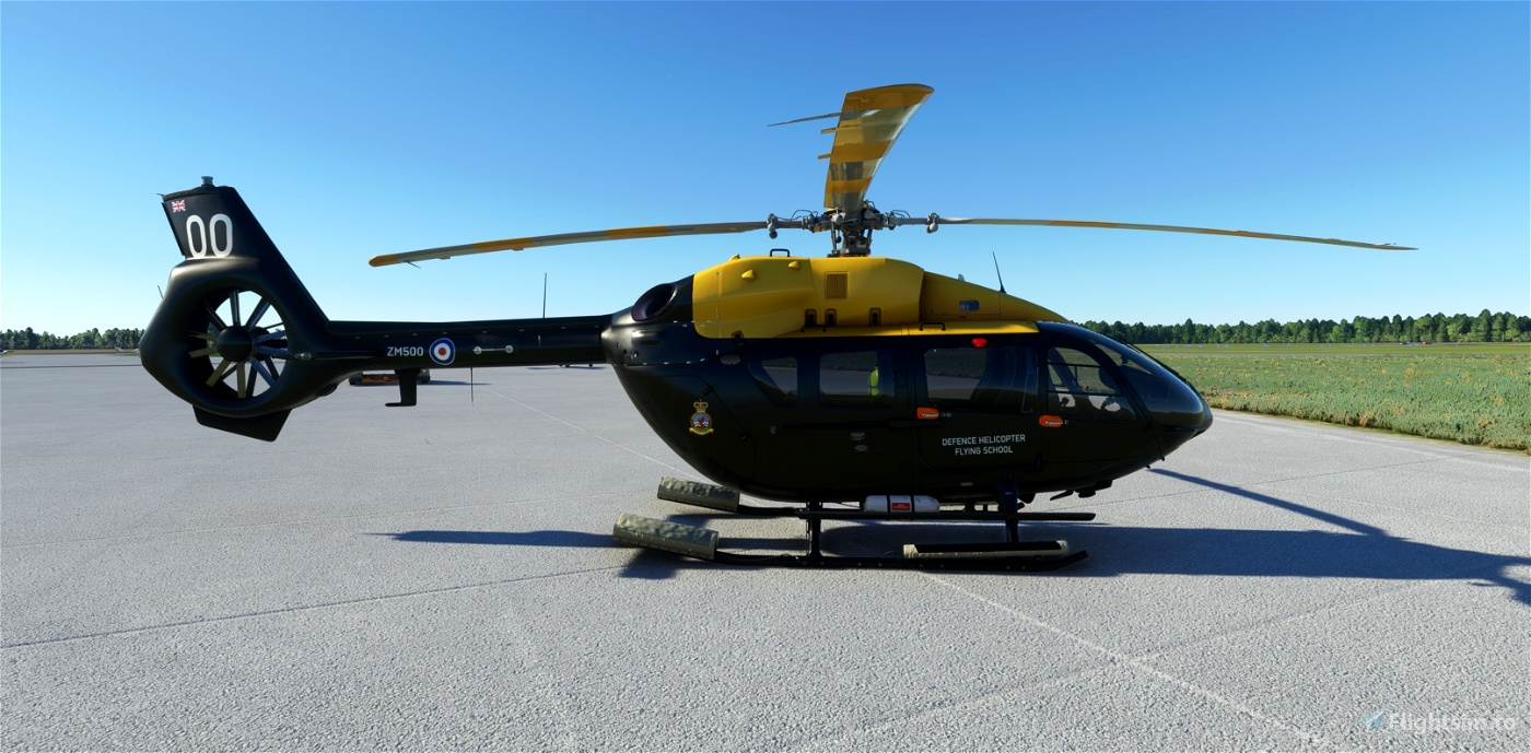Defence Helicopter Flying School 'ZM500' | Airbus H145 | 8K