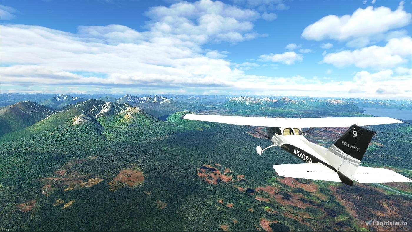 Discover Alaska, Chapter 1: PAKN-PAMK Microsoft Flight Simulator