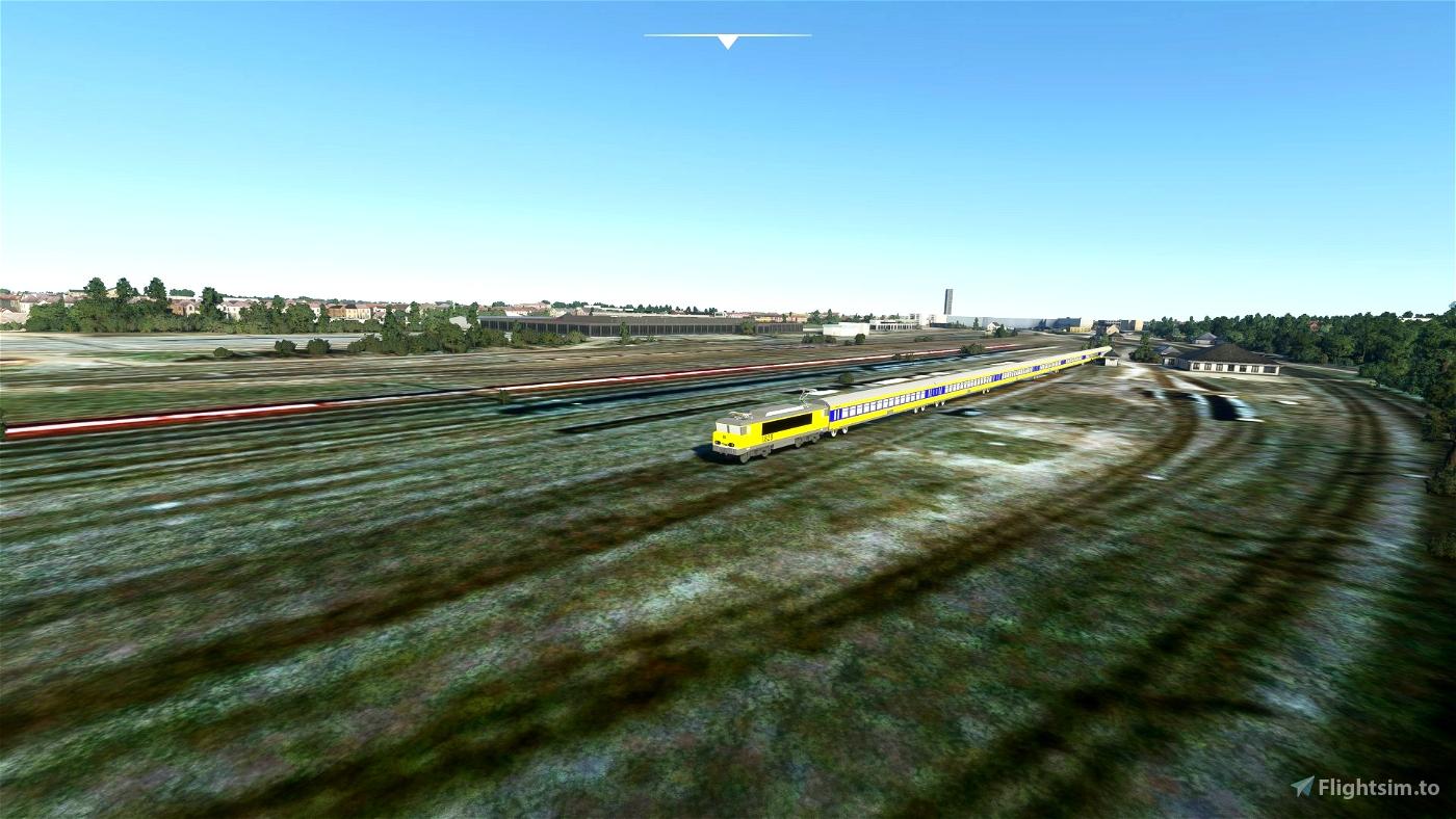 DutchTrains Microsoft Flight Simulator