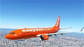 EASYJET 737M Microsoft Flight Simulator