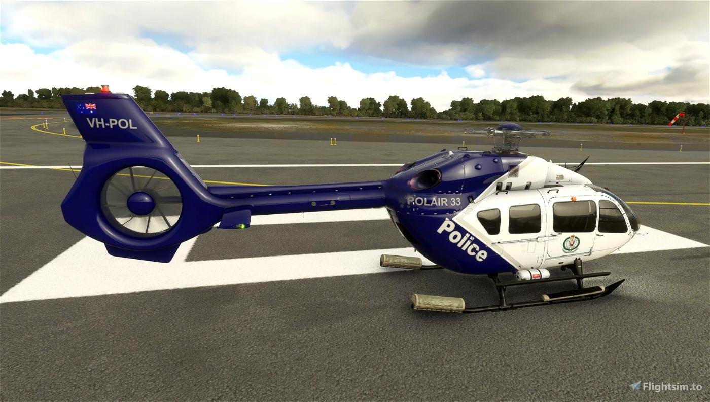 EC145 NSW POLAIR Australia Police Livery
