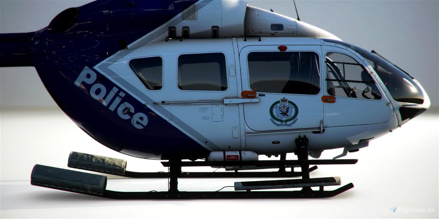 EC145 NSW POLAIR Australia Police Livery Microsoft Flight Simulator
