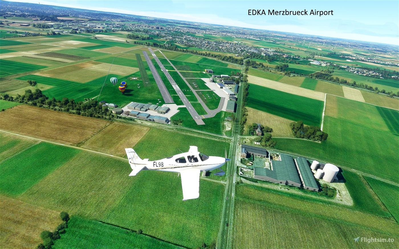 Aachen Merzbrueck EDKA Airport