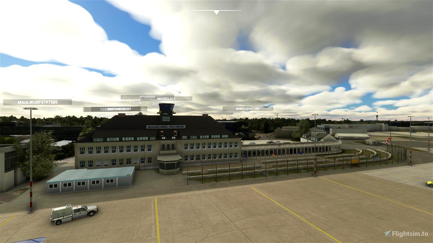 EDVE Braunschweig Tower  Microsoft Flight Simulator