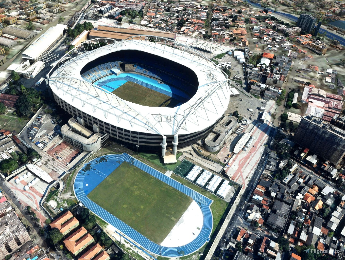 Estádio Nilton Santos - Rio - Brasil