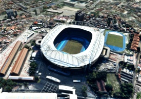 Estádio Nilton Santos - Rio - Brasil Microsoft Flight Simulator
