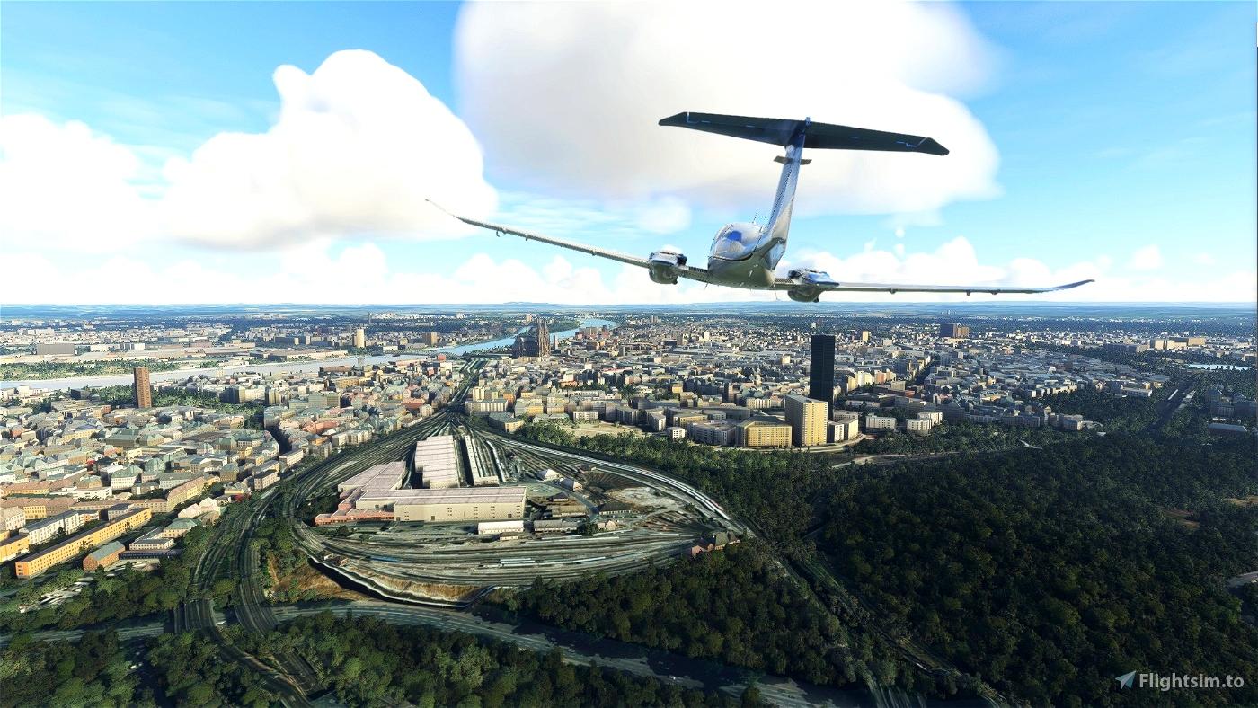 Europe Top to Toe - Stage 3 Microsoft Flight Simulator