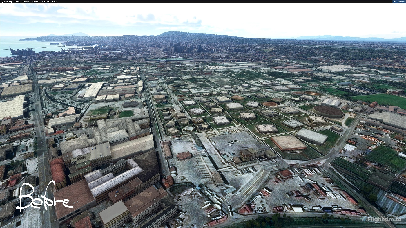 Napoli: Ex oil rafinery of Naples - Zona industriale