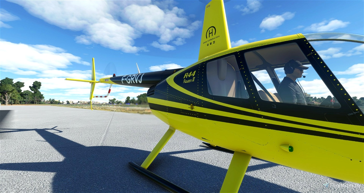 F-GRVJ | Run Helico | R44 Raven II Alpha 2.0 Microsoft Flight Simulator