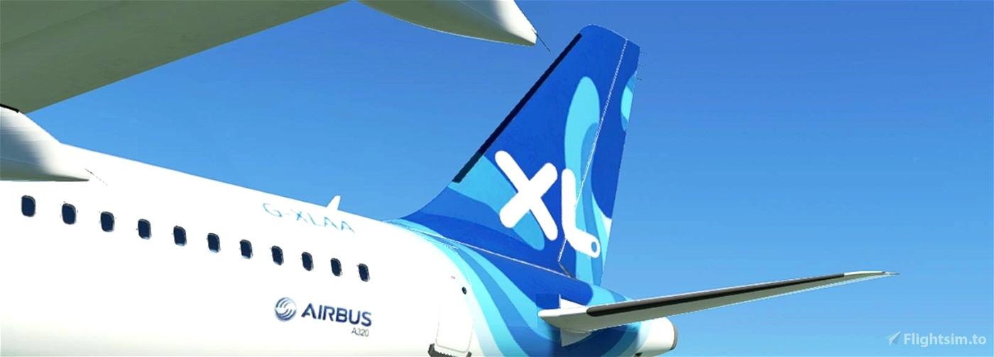 FBW A32NX XL Airways Microsoft Flight Simulator
