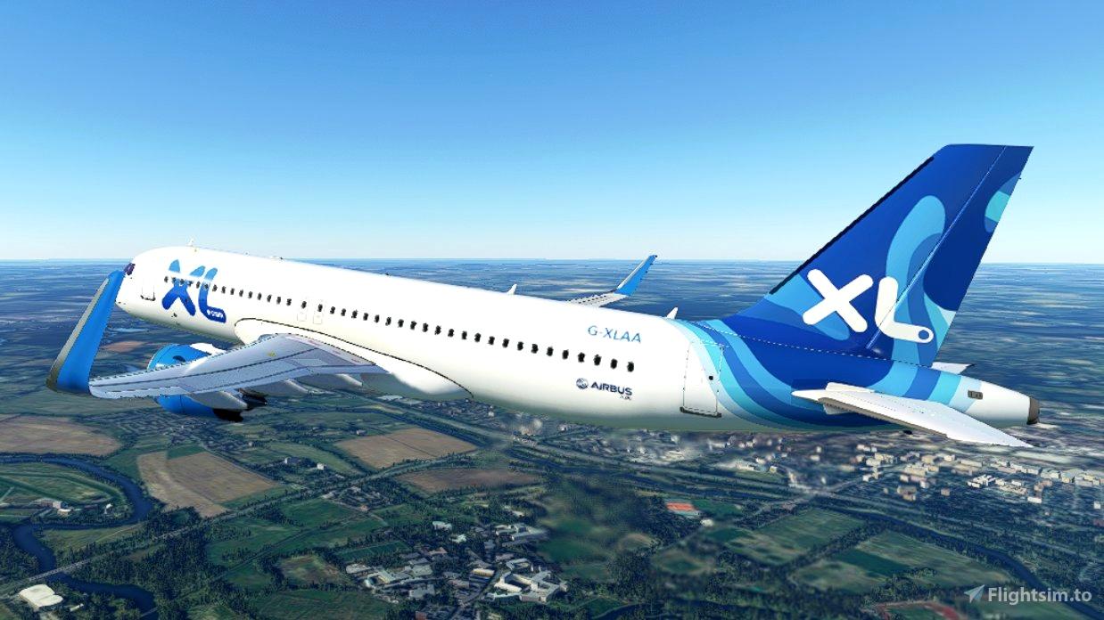 FBW A32NX XL Airways