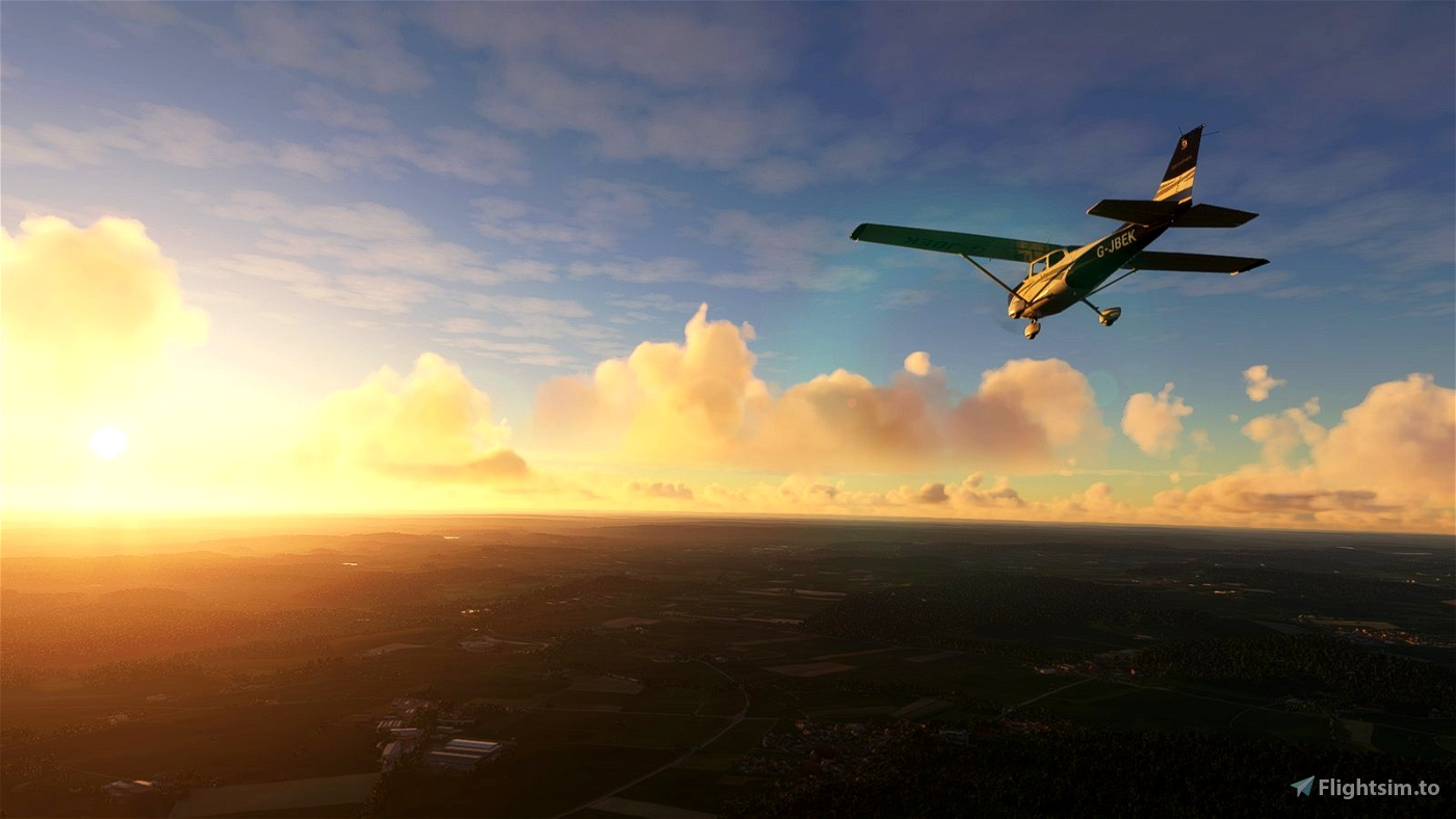 FlightPlan - VFR airfield hopping from Unterwossen to Friedrichshafen, Germany